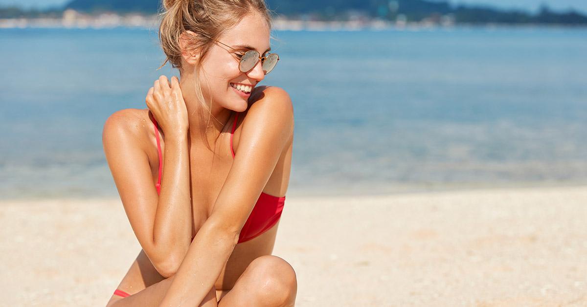 Prurito sul corpo post esposizione al sole