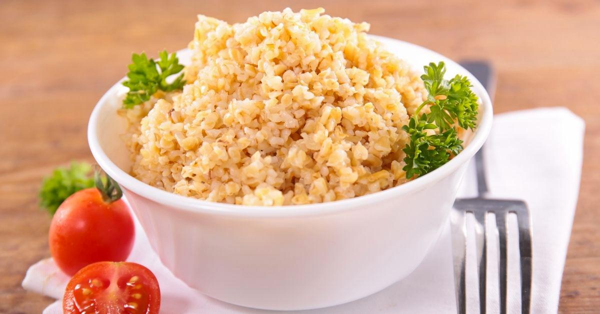 Ricetta sana e gustosa con bulgur e quinoa