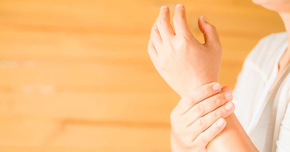 Formicolio mani e braccia